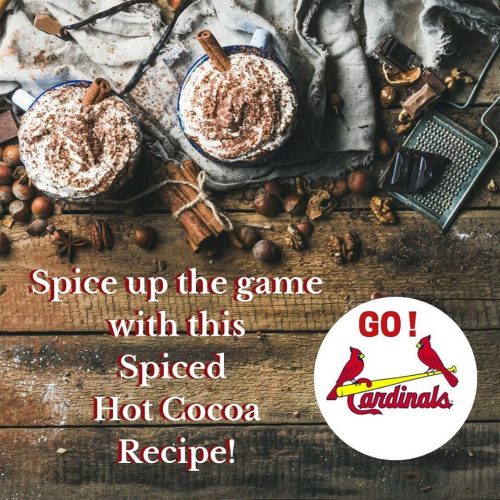 Cooler weather & family fun calls for our delish Spiced Hot Cocoa recipe!