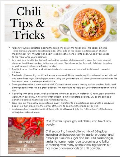 Chili TIps pg 1