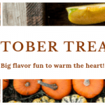 October email of recipes and tips, featuring Apple Pie Spice