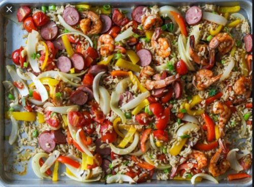 sheet pan jambalya cooking light