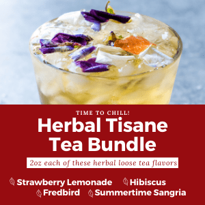 herbal tisane tea bundle