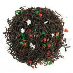 christmas cookie black tea
