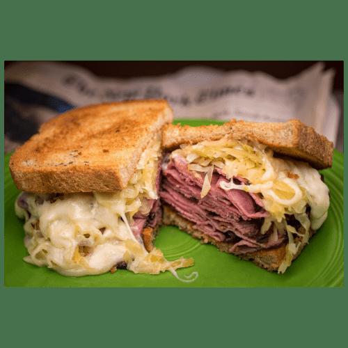 cornbeef sandwich