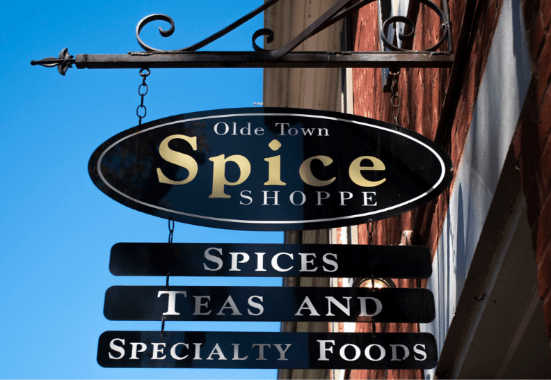 spice sign blue sky 2