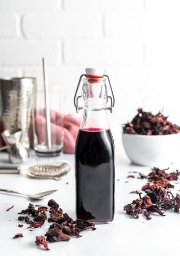 hibiscus-syrup