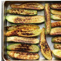 crosshatched zucchini