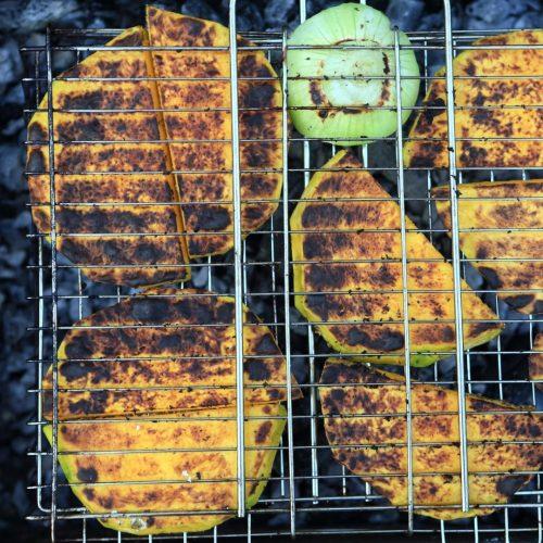 grilled pumpkin